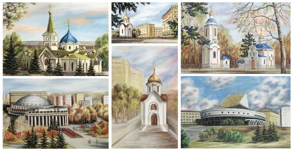 Dessins de Novorssibirsk
