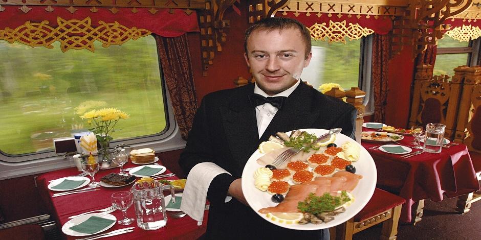 Caviar et saumon fumé