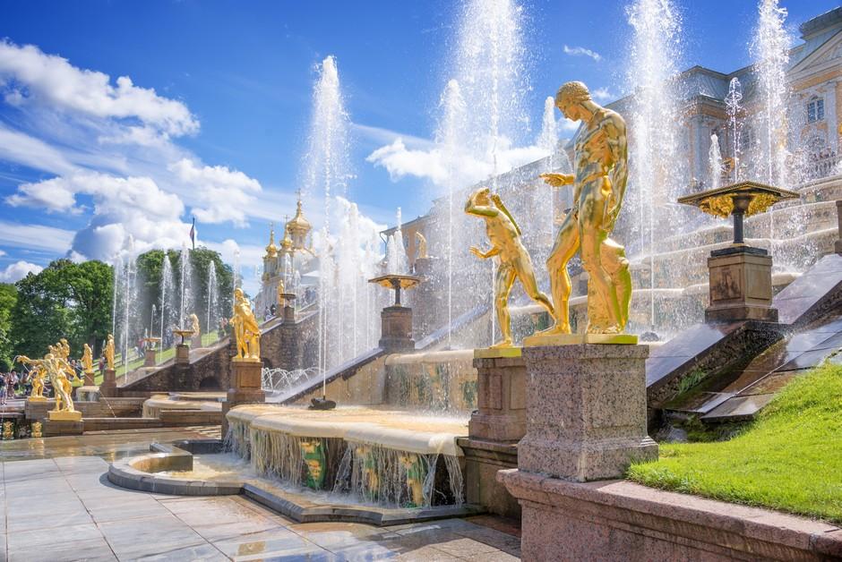 Fontaines du Palais Peter Hof