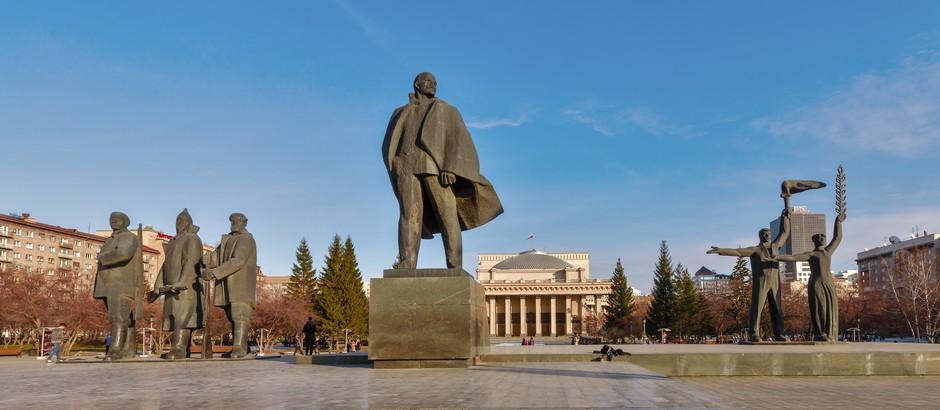 Place centrale de Novorssibirsk