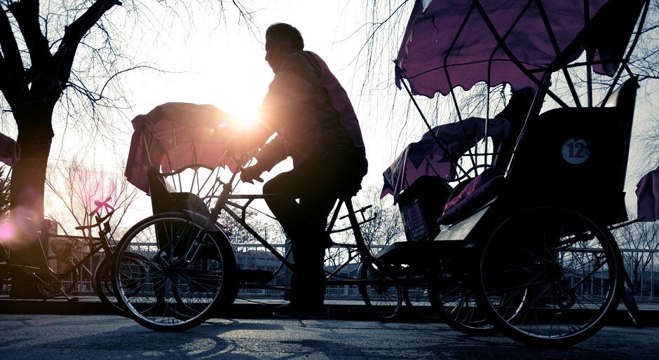 Ou le rickshaw à Pékin